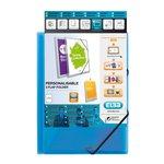 Cartelle 3 lembi con elastico personalizzabile Polyvision