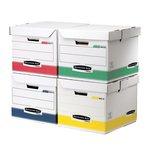 Scatole archivio colorate System