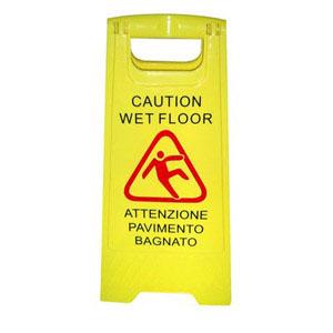 Segnalatore pavimento bagnato