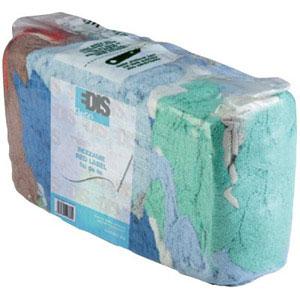 Stracci in cotone e misto cotone per la pulizia industriale e usi iginici. Panetto da 2kg