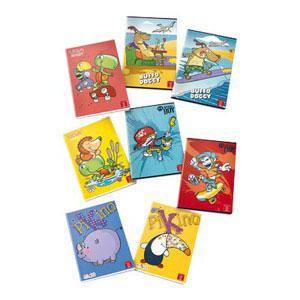Quaderni A4 grafiche Bambino