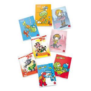 Quaderni A4 grafiche Bambina