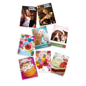 Quaderni A4 grafiche Ragazza