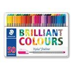 Penne punta fibra Brilliant colors