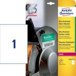 Etichette ultra resistenti polietilene flessibile