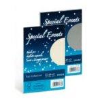 Carta e buste metallizzate Special Events