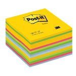 Cubi di foglietti di Post-it  colorati e giallo Canary