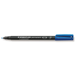 Pennarello Lumocolor Permanent 318 - punta 0,6mm - blu  - Staedtler