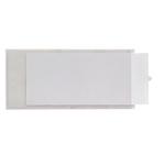 Portaetichette adesivo Ies L40 - 40x300 mm - grigio - Sei Rota - conf. 10 pezzi