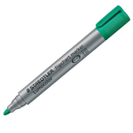 Marcatore a base d\acqua Lumocolor Flipchart 356 - punta tonda 2,0mm - verde - Staedtler