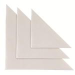 Busta autoadesiva triangolare TR 17 - PVC - 17x17 cm - trasparente - Sei Rota - conf. 10 pezzi