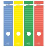 Copridorso CDR C - carta autoadesiva - blu - 7x34,5 cm - Sei Rota - conf. 10 pezzi