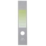 Copridorso CDR S - carta autoadesiva - verde - 7x34,5 cm - Sei Rota - conf. 10 pezzi