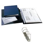 Raccoglitore Sanremo 2000 - 4 anelli a D 25 mm - dorso 4 cm - 35x50 cm (libro) - nero - Sei Rota