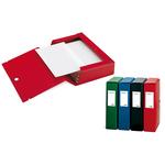 Scatola archivio Scatto - dorso 4 cm - 25x35 cm - rosso - Sei Rota