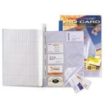 Porta biglietti da visita Uno Card - 21x29,7 cm - 10 buste con 10 tasche ciascuna - blu - Sei Rota