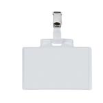 Portanome Pass 3 E - clip in metallo - 9,5x6 cm - Sei Rota - conf. 100 pezzi