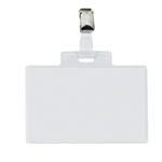 Portanome Pass 4 E - clip in metallo - 11x7 cm - Sei Rota - conf. 100 pezzi
