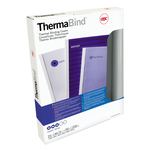 Cartelline termiche Optimal - 12 mm - bianco - GBC - scatola 100 pezzi