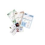 Pouches - business card - 60x90 mm - 2x125 micron - GBC - scatola 100 pezzi