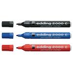 Marcatore Edding 2000c  - punta tonda da 1,5mm a 3mm  - rosso - Edding