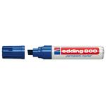 Marcatore 800 - blu - punta da 4,0 a 12mm - inchiostro permanente - Edding