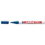 Marcatore 751 - blu - inchiostro permanente - punta da 1,0 a 2mm - Edding