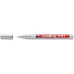 Marcatore 751 - argento - inchiostro permanente - punta da 1,0 a 2mm - Edding