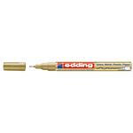 Marcatore 780 - punta 0,8mm  - oro -  Edding
