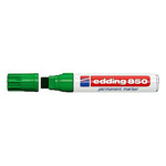 Marcatore 850 - verde - punta da 5,0 a 16mm - inchiostro permanente - Edding