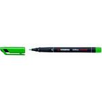 Pennarello OHPen universal permanente 841 - verde - punta superfine 0,4mm - Stabilo