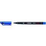 Pennarello OHPen universal permanente 843  - punta media 1,0mm - blu - Stabilo
