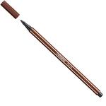 Pennarello Pen 68  - punta 1,00mm - marrone - Stabilo - conf. 10 pezzi