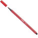 Pennarello Pen 68 - punta 1,00mm - rosso carminio  - Stabilo - conf. 10 pezzi