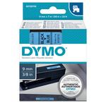 Nastro D1 409160 - 9 mm x 7 mt - nero/blu - Dymo