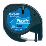Nastro Letratag - 912050 - in plastica - 12mmx4mt - blu - Dymo