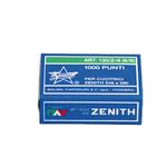 Punti 130/Z6 - 6/6 - acciaio zincato - metallo - Zenith - conf. 1000 pezzi