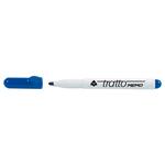 Pennarello a secco Tratto Memo per lavagne cancellabili - punta conica - tratto 2,5mm - blu - Tratto