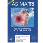 Carta inkjet - A3 - 100 gr - color design - patinata - bianco - As Marri - conf. 200 fogli