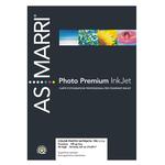 Carta fotografica inkjet - A4 - 190 gr - effetto satinata - bianco - As Marri - conf. 50 fogli