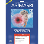 Carta fotografica inkjet - A4 - 150gr - effetto lucido - As Marri - conf. 10fg