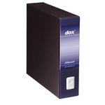 Registratore Dox 9 - dorso 8 cm - 35x31,5 cm - blu - Rexel