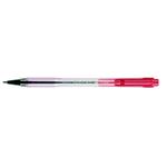 Penna a sfera a scatto BP S Matic - punta fine 0,7mm - rosso  - Pilot