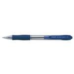 Penna a sfera a scatto Super Grip - punta fine 0,7mm - blu - Pilot