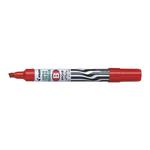 Marcatore permanente Pilot Super Color - punta a scalpello in fibra acrilica 5,00mm - rosso - Pilot
