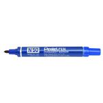 Marcatore permanente N50 - punta conica 4,30mm - blu - Pentel