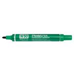 Marcatore permanente N50 - punta conica 4,30mm - verde - Pentel
