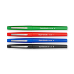 Pennarello Flair Nylon punta feltro - punta 1,10mm - rosso - Papermate