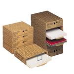 Scatola archivio A4 File - 26x8x35 cm - avana - Esselte Dox