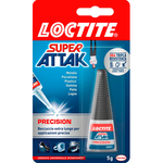 Colla Super Attak Precision - 5 gr - trasparente - Loctite